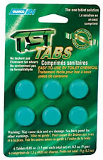 TST RV Toilet Treatment Portable Grey Gray Waste Water Tabs Tablets Cleaner Tank