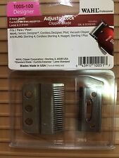WAHL 3 HOLE ADJUST-LOCK CLIPPER BLADE_SENIOR/DESIGNER