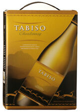 TABISO CHARDONNAY WEIß WEIN Bag in Box 3 LITER 14%