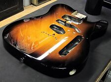 2012 Fender American Telecaster Alder BODY Sunburst USA Tele Electric Guitar