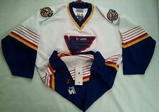 VINTAGE STARTER ST. LOUIS BLUES AUTHENTIC HOCKEY JERSEY IN SIZE 52