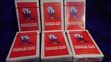 Sealed Deck of HAROLDS CLUB Reno Casino Playing Cards- BRIDGE SIZE