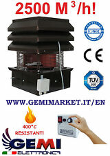 CHIMNEY FAN FOR FIREPLACE, BARBECUE, PIZZERIA, PROFESSIONAL 110 VOLTS  (For USA)