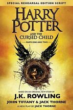 Harry Potter And The Cursed Child Parts 1 And 2 READ DESCRIPTION!