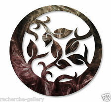 Contemporary Metal Wall Decor Sculpture Elliptical Branchlets II by Ash Carl