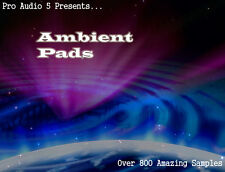 Ambient Pads - Atmospheric Pads - wav Samples - Over 800 Samples