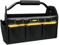 New AWP Polyester Tool Bag Pouch Tote Pocket Inch Black Leathercraft Heavy Duty