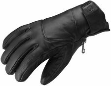 SALOMON EVEN FULL LEATHER SKI GLOVES,MEN's Sz EXTRA LARGE