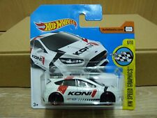 Hot Wheels 2017 Ford Focus RS HW Speed Graphics #79/365 Koni publicidad