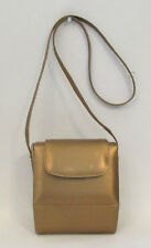 VINTAGE 1960s STUART WEITZMAN SHOULDER BAG MADE IN SPAIN GOLDEN COPPER LEATHER