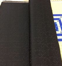 "Black Brocade 100% Polyester 60"" wide Fabric forTroy - Sold by the Yard"