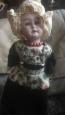 Antique dolls with vintage clothing