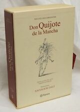 Don Quijote De La Mancha  (Don Quixote)   Illustrated by Salvador Dali