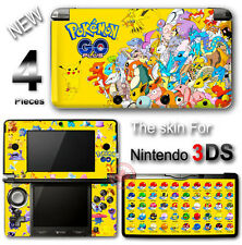Pokemon Go Yellow Edition Skin Decal Sticker Vinyl Cover #2 for Original 3DS