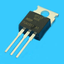 4x TRIAC BT137 600E 600V 8A EQU BTA08 GRADATEUR MODULATEUR SEQUENCEUR NXP TO220