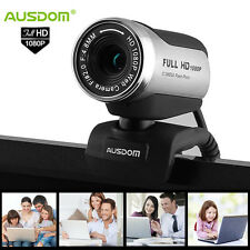 USB 2.0 12.0M 1080P HD Webcam Video Camera Web Cam For Computer PC Laptop Skype