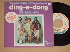"TEACH-IN -Ding-A-Dong- 7"" 45 Eurovision 1975"