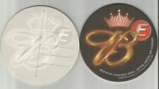 """Lot Of 5 Budweiser """"E""""  Beer Coasters-St.Louis, MO 4""""  Postcard...#1532"""