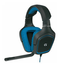 New Logitech G430 Surround Sound 3.5mm Wired Stereo Gaming Headset - 981-000536