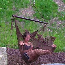 Garden Rope Hammock Porch Patio Swing Seat Hanging Lounge Chair Hammock Swings