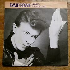 "DAVID BOWIE Heroes / V-2 Schneider RCA UK 1st Press 7"" NM"