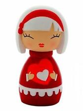 MOMIJI Doll - SISTER Red, Heart  by Lili Bunny resin figure Asian Secret Message