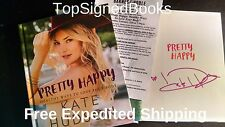 SIGNED Kate Hudson Pretty Happy Healthy Ways to Love Your Body, with photos new