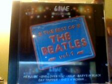 the best of the beatles vol 1 live recording cd duck records timbro rosso siae