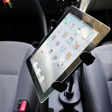 "Flexible 5"" Car Cup Holder Mount for Apple iPad 1 2 3 4 with or without a case"