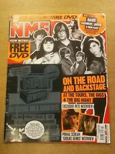 NME MARCH 17 2007 OASIS KASABIAN AMY WINEHOUSE KLAXONS THE CRIBS WHITE STRIPES