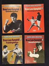 BRUCE LEE Kampfstil JEET KUNE DO Bücher Teil 1-4 RAR Lees Karate Wing Tsun Chun