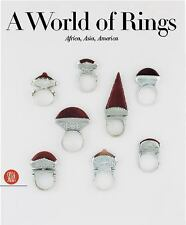 A World of Rings Anne Van Cutsem Books-Good Condition