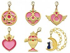 Sailor Moon Stained Charm set of 6 Bandai Gashapon Pretty Guardian