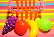 Doll playfood Grocery Basket and Fruit Set for American Girl Dolls