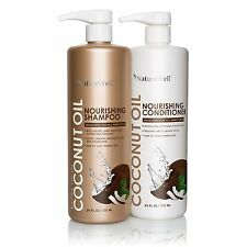 Nature Well Extra Virgin Coconut Oil Shampoo & Conditioner (24 oz each - 2 pk.)