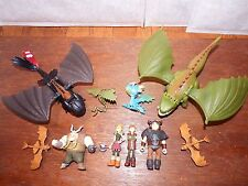 Rara Figura De Tren Your Dragon How to Juguete Juegp Toothless Astrid Hiccup Paquete