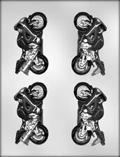 3D MOTORCYCLE CHOCOLATE CANDY MOLD Kawasaki Soap Crafts