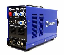Simadre Welding Machine Powerful Tig200p 200a Tig Mma Pulse Dc Inverter