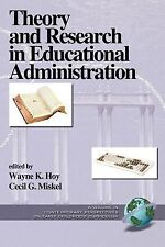 Theory and Research in Educational Administration  (PB) (Research and Theory in