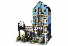 LEGO MARKET STREET 10190 Set Modular Buildings City Town 3 minifigs