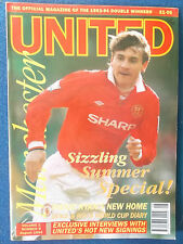 Manchester United Magazine - August 1994 - Vol 2 - No 8 Andrei Kanchelskis Cover