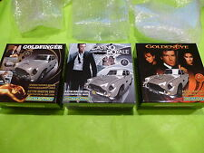 Scalextric NEW 1/32  x3 James Bond Aston Martin Ltd Ed DB5 C3091A C3162A C3163A