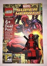 Custom Comic-Con - Dead Pool Mini Figure - Lego Compatible