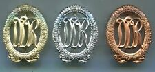 ORIGINAL DDR EAST GERMAN ARMY SPORTS BADGES Bronze,Silver & Gold