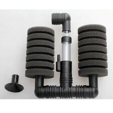 Aquarium Biochemical Sponge Filter Filtration Fish Tank Air Pump and Suction Cup