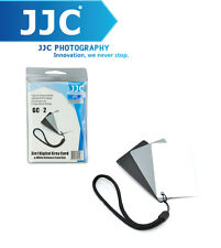 JJC 3 in 1 Three Color Digital Card Set for White Balance Adjustment GC-2