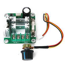 New Hi-Q Pulse Width PWM DC Motor Speed Regulator Controller Switch 6V-90V 15A