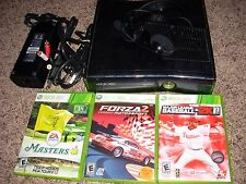 Xbox 360 SLIM Console with 3 Games LOT BUNDLE! Great Value!