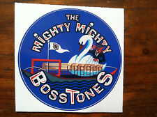 the mighty mighty Bosstones sticker /decal swan boats Boston Dickie