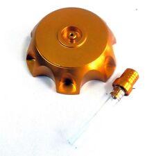 Tankdeckel Alu für 110 125ccm DirtBike DirtBike PitBike Cross Enduro in Gold